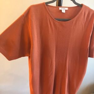 dcee7447127 Dress Barn Tops - Plus Size Short Sleeve Sweater Top (1x)